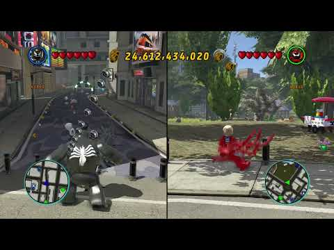 LEGO Marvel Superheroes - Jay and Eric Co-Op Special: The history of Venom, Anti-Venom and Carnage
