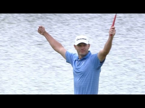 Shawn Stefani makes a 63-foot eagle putt for Shot of the Day
