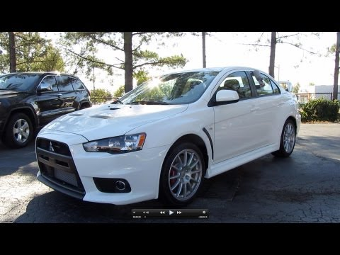2011 Mitsubishi Lancer Evolution GSR Start Up. Exhaust. and In Depth Tour