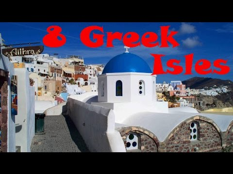 GREECE TRAVEL: 8 of the Best Greek Islands