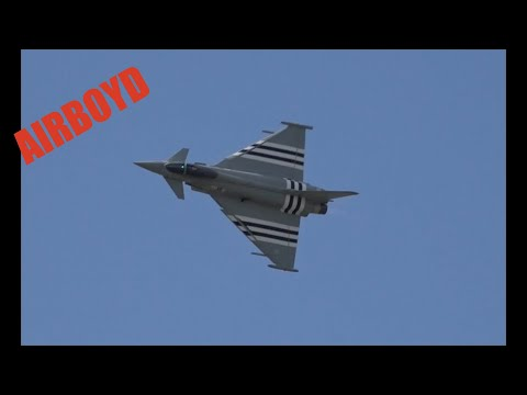 Eurofighter Typhoon Farnborough 2014 (Tuesday)