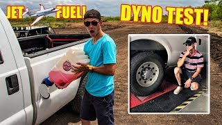 We Put Our JET FUEL Truck On The Dyno!