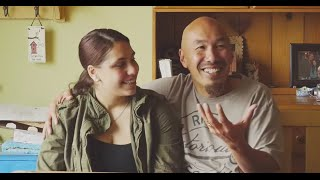 Francis Chan and his daughter Dellal
