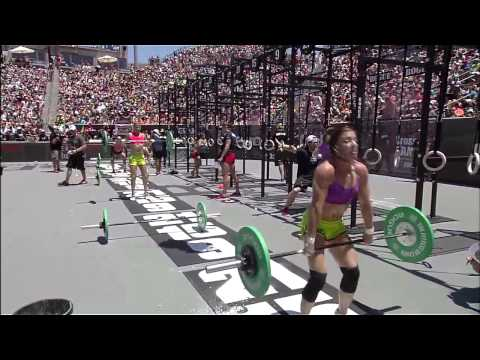 2012 CrossFit Games - Women Final: Elizabeth, Heat 1, 2 & 3