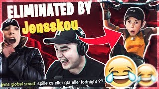 FORTNITE & CS:GO WINGMAN MED JENS! (JENS BIG MAN SHAQ RAP)