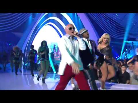 Pitbull & Ne-Yo, Give Me Everything Tonight,live MTV HD