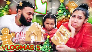OUR HOUSE GOT DESTROYED!!! | VLOGMAS DAY 5
