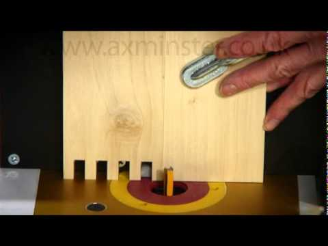 Axminster Box Comb Jointer - YouTube