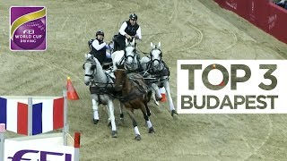 Top 3 Driving Budapest | FEI World Cup™ Driving