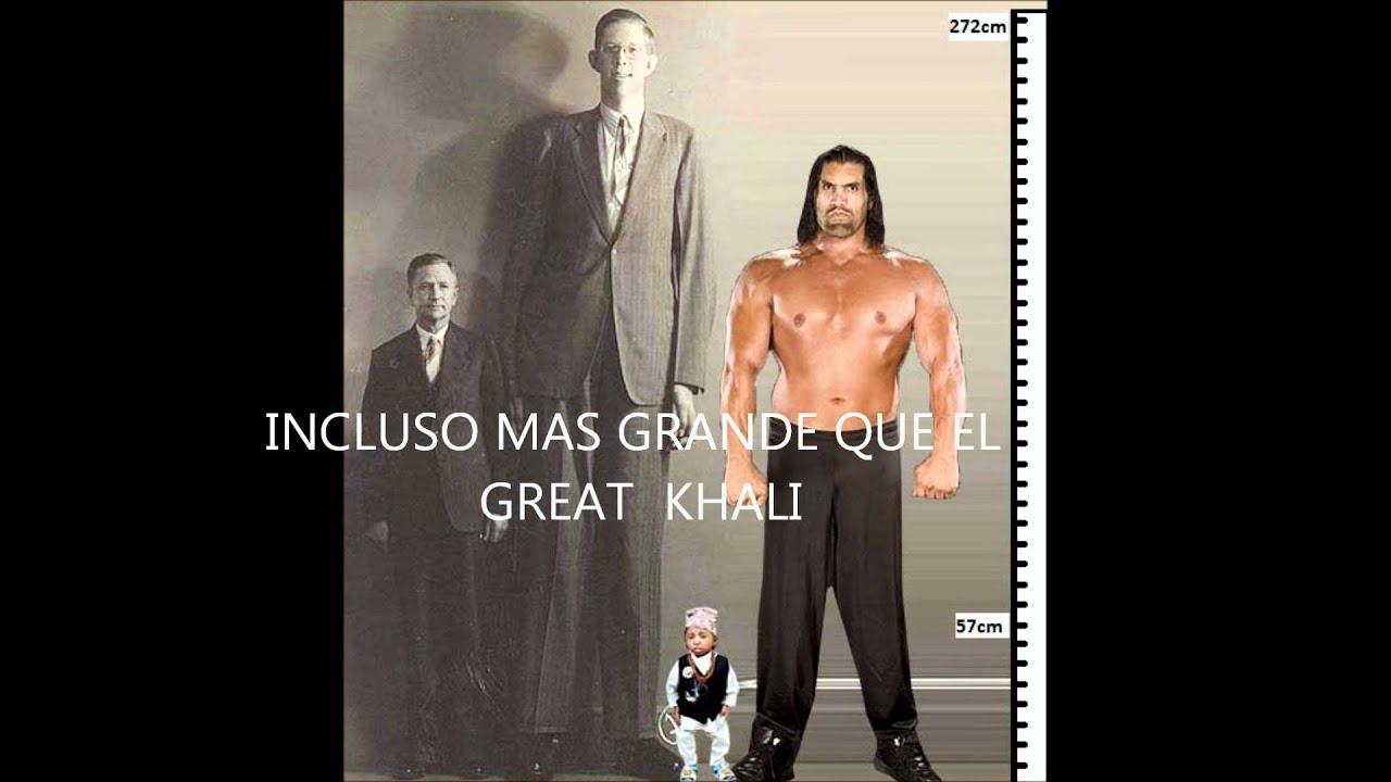 Hombre Mas Grande Del Mundo y el Mas Pequeño el Hombre Mas Alto Del Mundo
