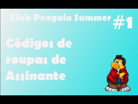 Desbloquear roupas no club penguin