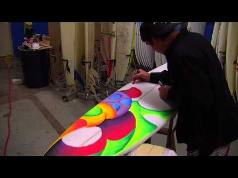 Scott Metzner Board Art Time Lapse