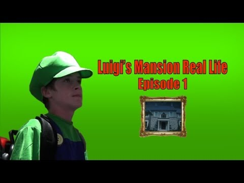 Luigi s Mansion Real Life Ep.1