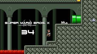 SUPER MARIO BROS. X - #34 - HellRider110 - World D ♦ Let's Play Your Level