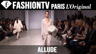 Allude Spring/Summer 2015 Runway Show   Paris Fashion Week   FashionTV
