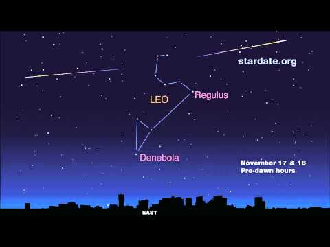 Leonid Meteor Shower Peaks Wednesday, November 17