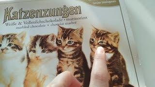 Милые котики на коробке конфет) Прикол)