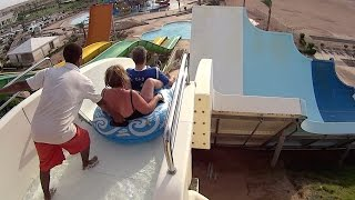 Tsunami Water Slide at Makadi Bay Water World