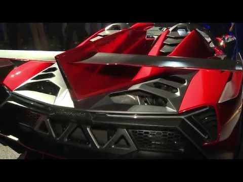 Lamborghini Veneno Roadster Abu Dhabi - Top Car Italian Design Video