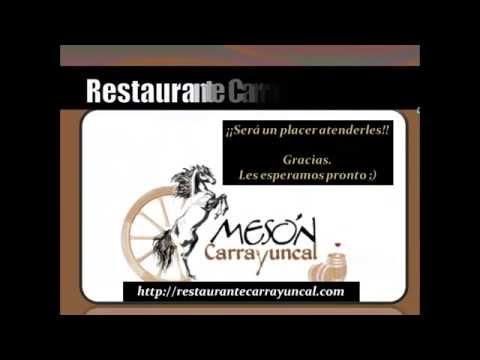 ☆Restaurante Carrayuncal☆ Fuentepelayo (Segovia)