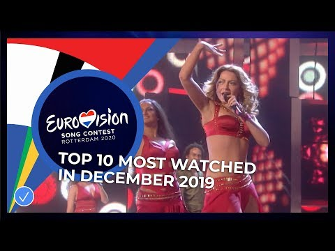 TOP 10: Most watched in December - Eurovision Song Contest