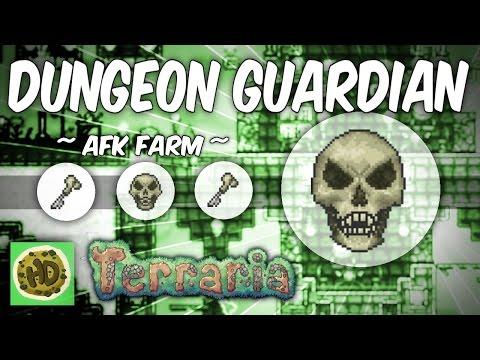 Terraria AFK Dungeon Guardian Farm