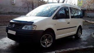 Обзор Volkswagen Caddy 1.9 tdi 2005 car review. Сar for sale. Продается.