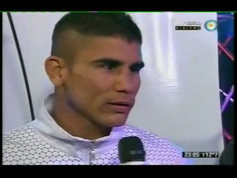 Javier Maciel & Mateo Veron Interview Pre Combate Ring Side