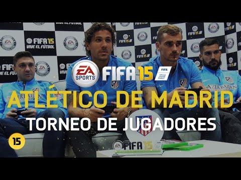 Torneo FIFA 15 - Jugadores del Atlético de Madrid [HD]