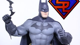Batman Arkham City Hot Toys Batman Video Game Masterpiece 1/6 Scale Collectible Figure Review