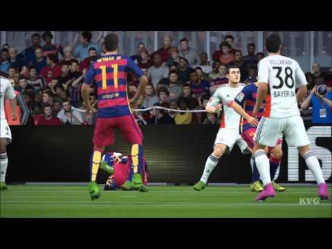 FIFA 16 - UEFA Champions League - FC Barcelona vs Bayer 04 Leverkusen Gameplay (HD) [1080p60FPS]