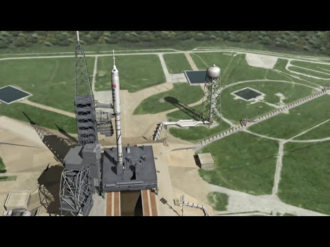 Ares I-X Test Flight in HD