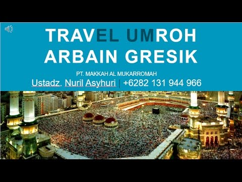 Video travel umroh di gresik
