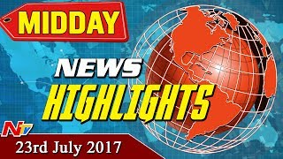 Mid Day News Highlights || 23rd July 2017