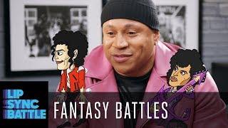 Fantasy Battles w/ LL Cool J and Chrissy Teigen | Lip Sync Battle