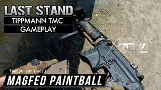 Tippmann TMC Magfed Paintball Gameplay