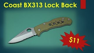 Coast BX313 Lock Back Knife delivered by a Drone!!!