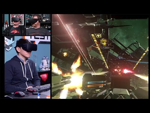 Let's Play VR: ADR1FT, VR Tennis Online, Airmech, EVE: Valkyrie