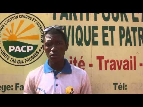 Adama Moussa Sanogo support Yeah Samake