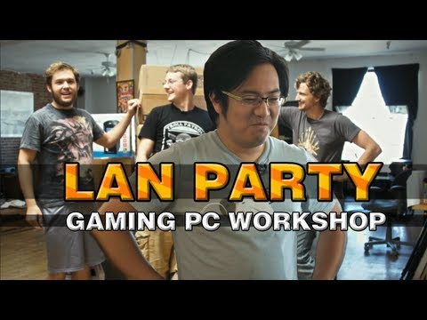 Building the Ultimate Gaming PC with freddiew and corridordigital on LAN Party - NODE