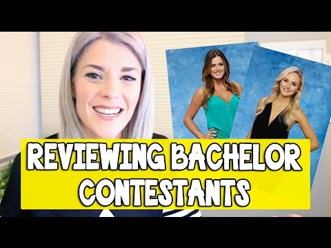 REVIEWING BACHELOR CONTESTANTS // Grace Helbig