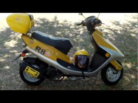 Chinese Scooters...Wildfire 50cc review
