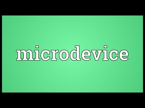 Header of Microdevice