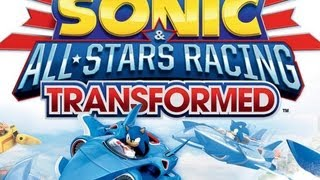 Пробуем играть в Sonic & All-Stars Racing Transformed
