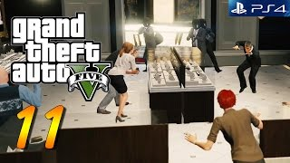 GTA 5 PS4 Gameplay Walkthrough Part 11 (First Person)