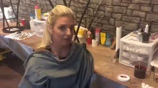 Scream-A-Geddon makeover timelapse