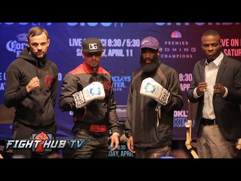 Danny Garcia vs. Lamont Peterson full video- Final Press conference & face off
