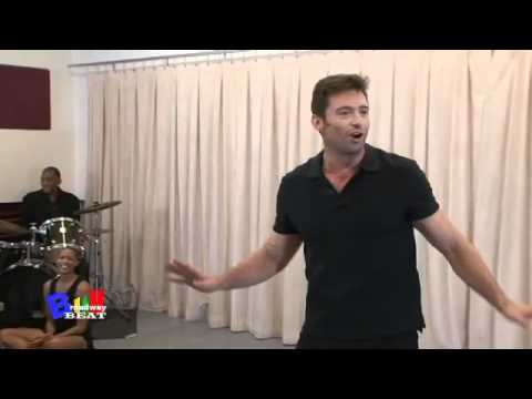 EXTENDED press Meet and Greet of Hughs Broadway rehearsals, with.....