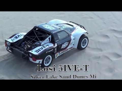 Losi 5IVE-T at Silver Lake Sand Dunes Mi. Steve Turner
