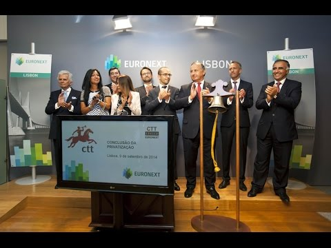 CTT rings the closing bell to commemorate the conclusion of privatization